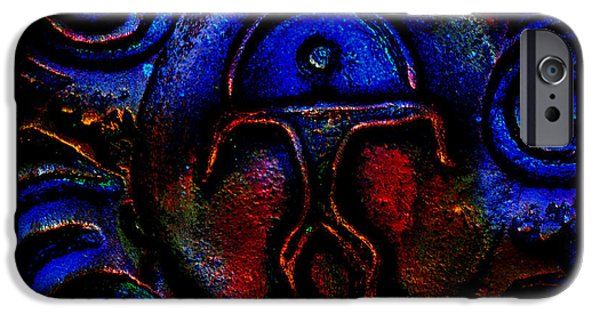 Storm Ceramics iPhone Cases - Rainbow Man iPhone Case by Susanne Still