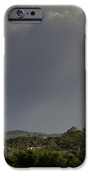 Rainbow Over Carmel iPhone Case by Mike Herdering
