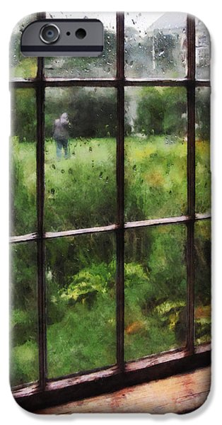 Rainy Day iPhone Case by Susan Savad