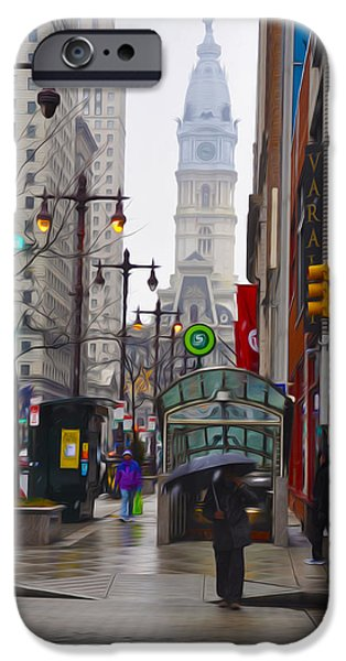 Rainy Day iPhone Cases - Rainy Days and Sundays iPhone Case by Bill Cannon