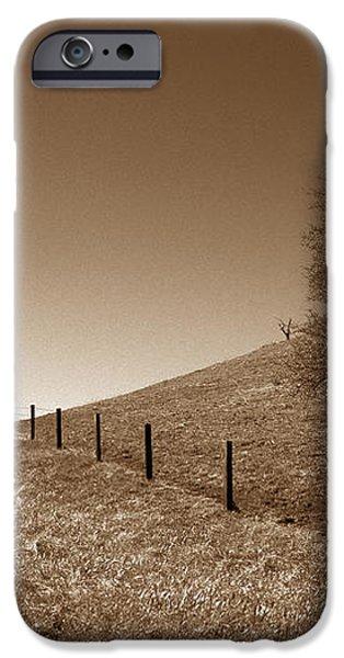 Ranch Road Oak iPhone Case by Kathy Yates