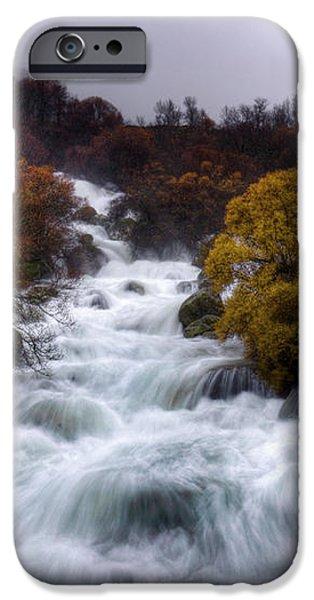 Rapid Waters iPhone Case by Carlos Caetano