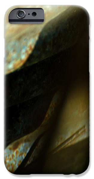 Abstract Expressionism Photographs iPhone Cases - Rapture iPhone Case by Rebecca Sherman