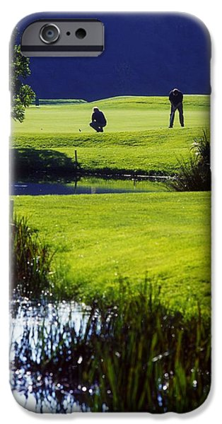 Rathsallagh Golf Club, Co Wicklow iPhone Case by The Irish Image Collection