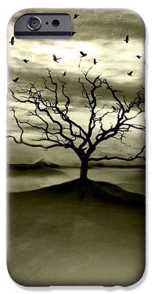 Raven Valley iPhone Case by Photodream Art