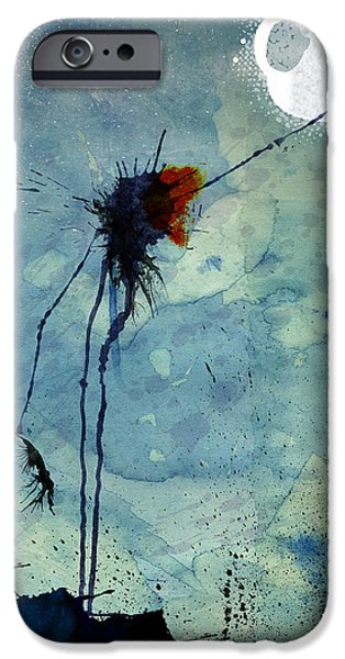 David Mixed Media iPhone Cases - Reach #1 iPhone Case by David Finley