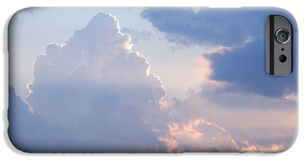 Sun Rays Digital iPhone Cases - Reach for the Sky 4 iPhone Case by Mike McGlothlen
