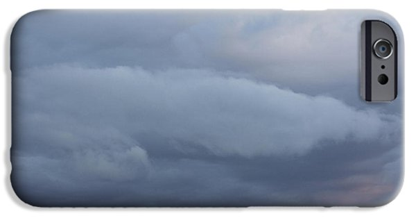 Blue-gray iPhone Cases - Reach for the Sky 8 iPhone Case by Mike McGlothlen