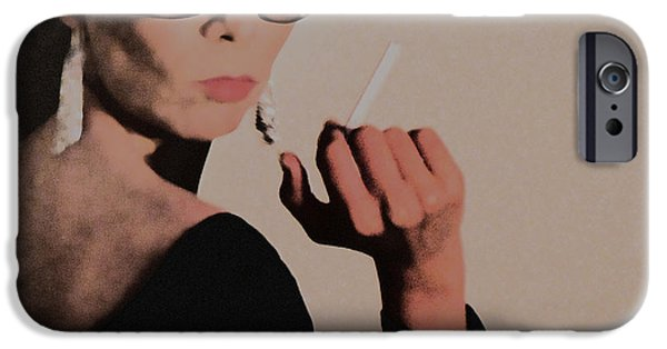 Seductive iPhone Cases - Reaction iPhone Case by Naxart Studio