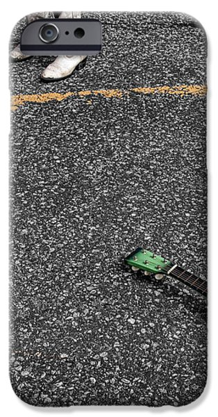 Real Gone In Nowheresville iPhone Case by Terry Doyle