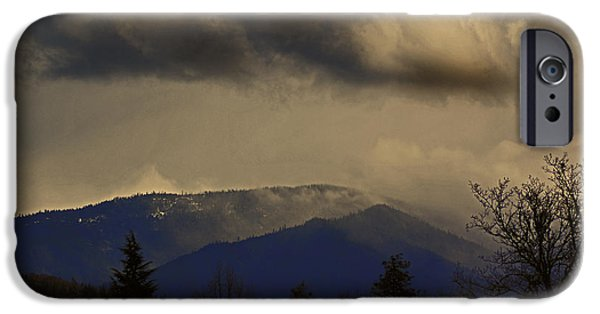 Best Sellers -  - Turbulent Skies iPhone Cases - Real Oregon Weather iPhone Case by Mick Anderson