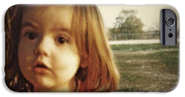 Innocence iPhone Cases - Rebekah iPhone Case by Sarah Loft