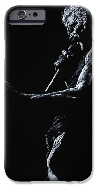 Rebel Yell 1 iPhone Case by Richard Young