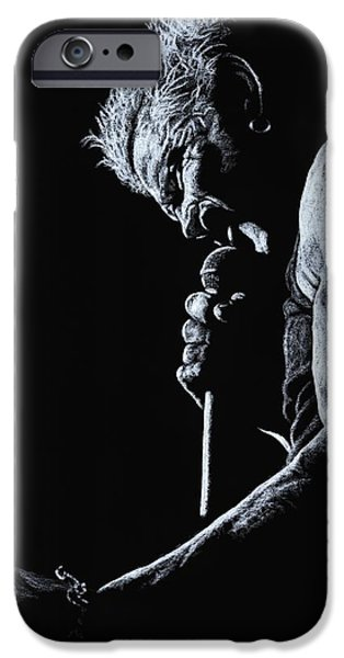 Music Pastels iPhone Cases - Rebel Yell iPhone Case by Richard Young