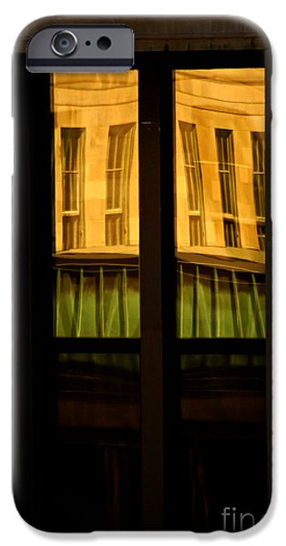 rectangular reflection iPhone Case by Aimelle