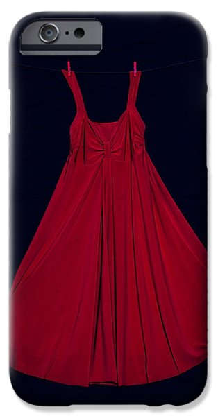 red dress iPhone Case by Joana Kruse