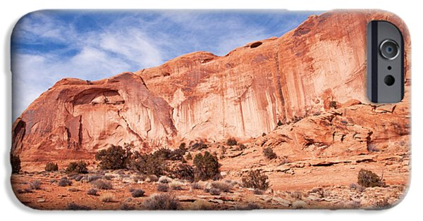Best Sellers -  - Slickrock iPhone Cases - Red Rock and Blue Skies iPhone Case by Bob and Nancy Kendrick