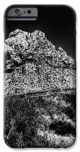 Red Rock Canyon at Spring Mountain iPhone Case by David Patterson