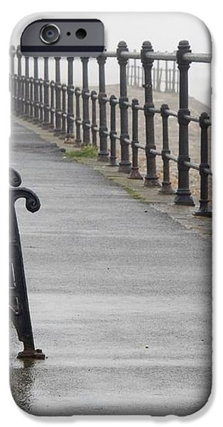 Redcar, North Yorkshire, England Row Of iPhone Case by John Short