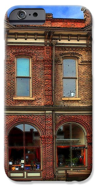 Redmens Hall - Jacksonville Oregon iPhone Case by James Eddy