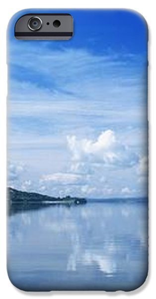 Reflection Of Clouds In Water, Lough iPhone Case by The Irish Image Collection