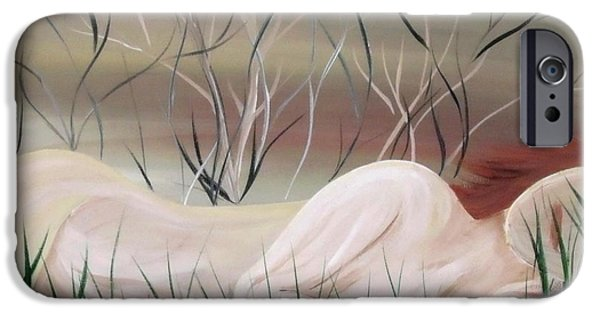 Beauty Mark Paintings iPhone Cases - Reflections iPhone Case by Mark Moore