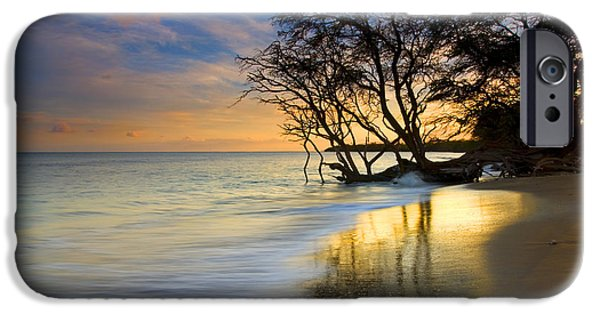 Tide iPhone Cases - Reflections of PAradise iPhone Case by Mike  Dawson