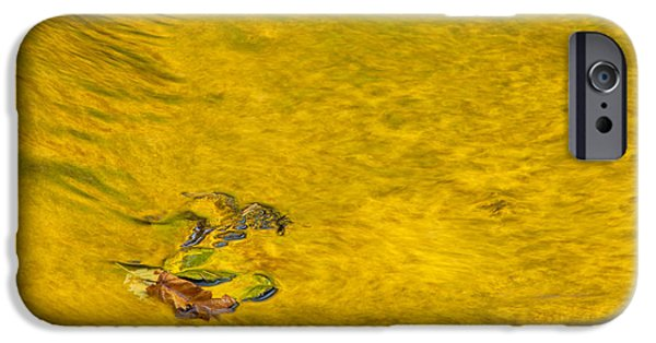 Golden Trout iPhone Cases - Reflections on Trout Creek iPhone Case by Greg Vaughn - Printscapes