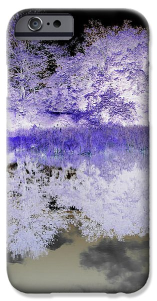 reflective abstracts iPhone Case by Kim Galluzzo Wozniak