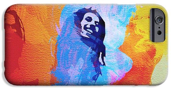 Reggae Music Art iPhone Cases - Reggae kings iPhone Case by Naxart Studio