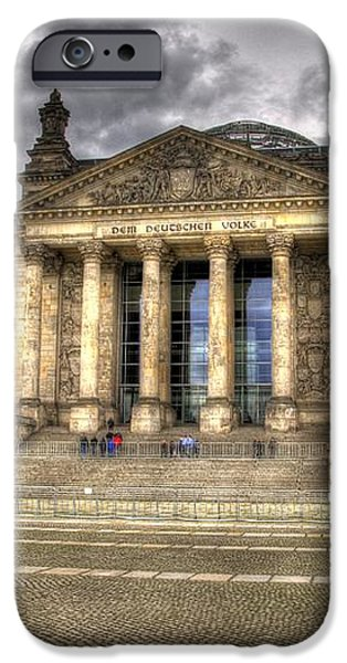 Reichstag Building  iPhone Case by Jon Berghoff