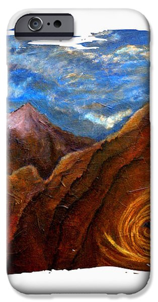 Reiki Healing Art Of The Sedona Vortexes iPhone Case by The Art With A Heart By Charlotte Phillips