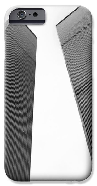 Twin Towers Nyc iPhone Cases - Remember iPhone Case by Joann Vitali