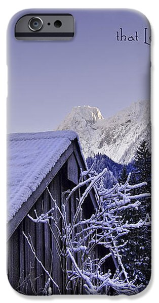 Remember this December iPhone Case by Sabine Jacobs