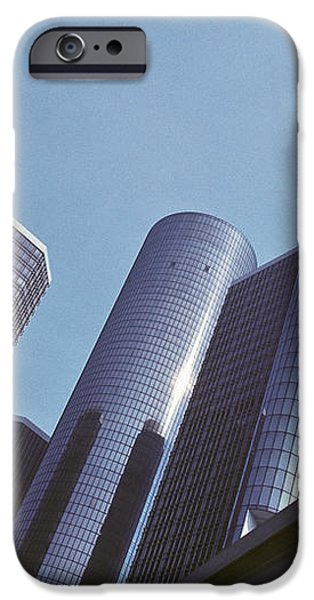 Renaissance Center in Detroit iPhone Case by Will & Deni McIntyre