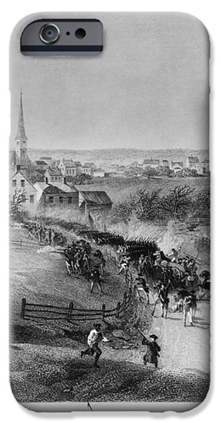 Retreat Of British From Concord iPhone Case by Photo Researchers
