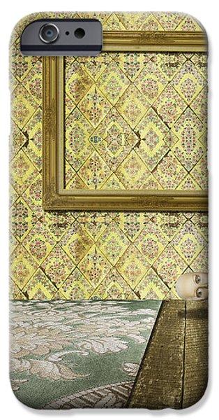 retro room interior iPhone Case by Setsiri Silapasuwanchai