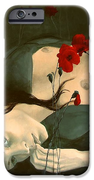 Reverie... iPhone Case by Dorina  Costras