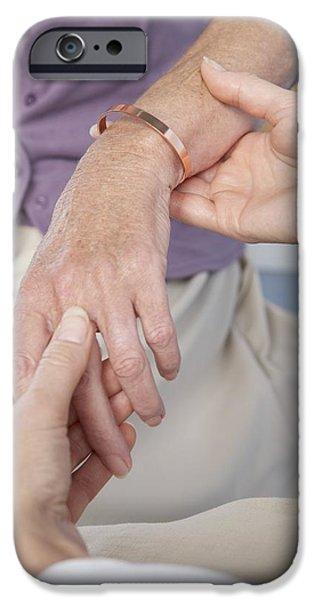 Consult iPhone Cases - Rheumatoid Arthritis iPhone Case by Adam Gault