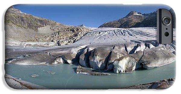 2000s iPhone Cases - Rhone Glacier, Switzerland iPhone Case by Dr Juerg Alean