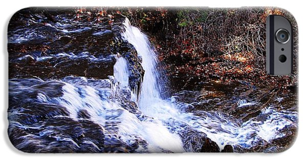 Animals Photographs iPhone Cases - Ricketts Glen Waterfall 3829 iPhone Case by David Dehner