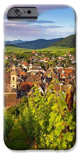 Riquewihr Alsace iPhone Case by Brian Jannsen