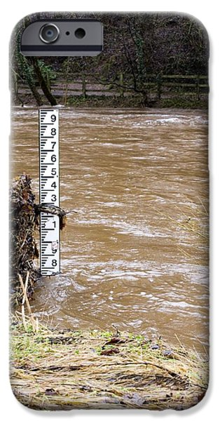 Rising River Level iPhone Case by Mark Williamson