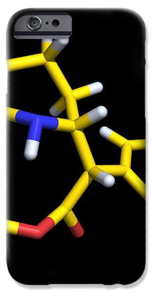 Ritalin Molecule iPhone Case by Dr Tim Evans