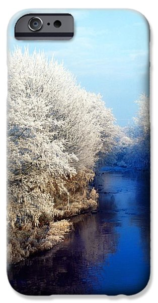 River Bann, Co Armagh, Ireland iPhone Case by The Irish Image Collection