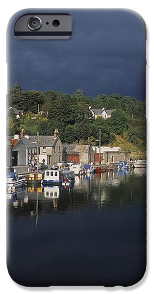 River Barrow, Graiguenamanagh, Co iPhone Case by The Irish Image Collection