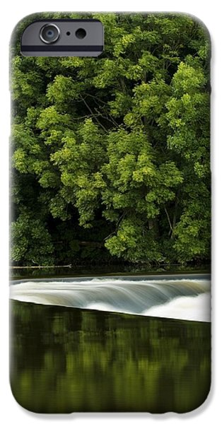River Boyne, County Meath, Ireland iPhone Case by Peter McCabe