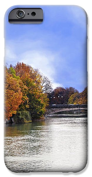 River Colors iPhone Case by Anthony Citro