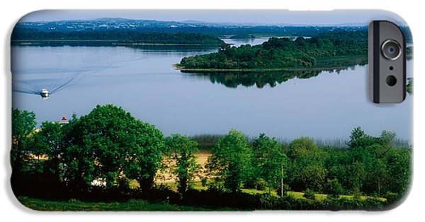 Fed iPhone Cases - River Cruising, Upper Lough Erne iPhone Case by The Irish Image Collection