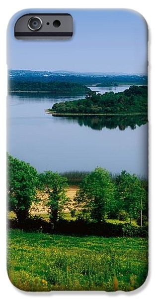 River Cruising, Upper Lough Erne iPhone Case by The Irish Image Collection
